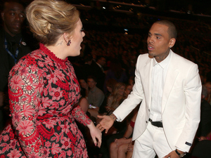 Adele, Chris Brown, Grammys 2013