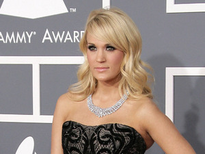 55th Annual GRAMMY Awards - Arrivals held at Staples Center Featuring: Carrie Underwood Where: Los Angeles, California, United States