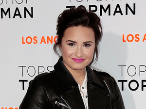 Topshop Topman LA Opening Party held at Cecconi's - Arrivals Featuring: Demi Lovato Where: West Hollywood, California, United States
