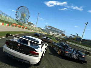 First images of EA&#39;s iOS and Android sequel Real Racing 3