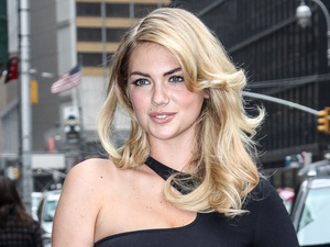 2013 Sports Illustrated Swimsuit models attend the Late Show with David Letterman Featuring: Kate Upton Where: New York, NY, United States