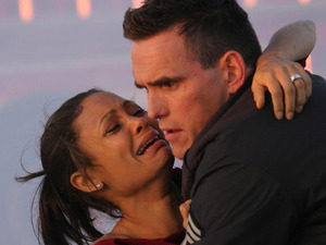 Still of Matt Dillon and Thandie Newton in 'Crash'
