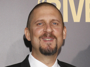 David Ayer with Cody Horn at 'End of Watch' premiere