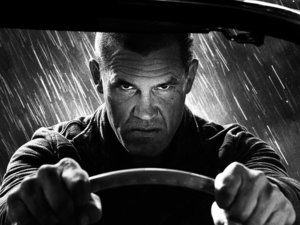 Josh Brolin in Sin City 2.