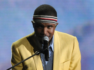 Frank Ocean performs at the Grammy Awards 2013
