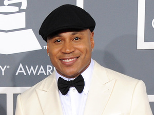 Grammy Awards 2013 red carpet: LL Cool J with his wife Simone Johnson