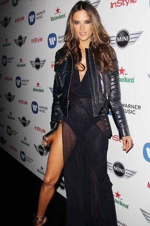 The 55th Annual GRAMMY Awards - Warner Music Group 2013 Grammy Celebration Presented By Mini at Chateau Marmont - Afterparty Featuring: Alessandra Ambrosio Where: Los Angeles, California, United States