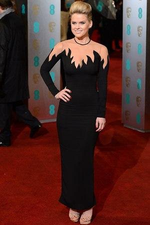 ALESSANDRA RICH, Alice Eve, BAFTAs 2013