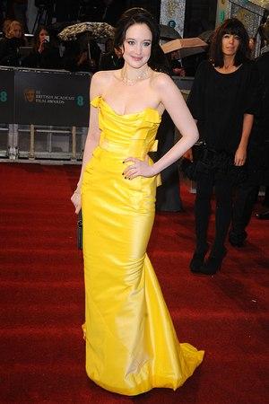 Andrea Riseborough, BAFTAs 2013
