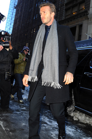 David Beckham, New York Fashion Week 2013
