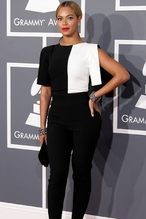 55th Annual GRAMMY Awards - Arrivals held at Staples Center Featuring: Beyonce Knowles Where: Los Angeles, California, United States When: 10 Feb 2013
