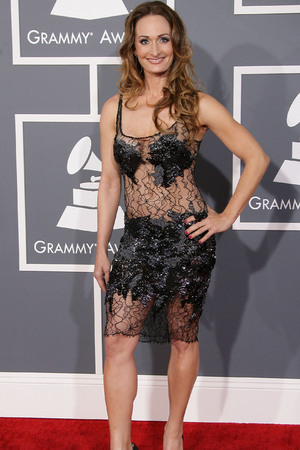 55th Annual GRAMMY Awards held at Staples Center - Arrivals Featuring: DManti Where: Los Angeles, California, United States When: 10 Feb 2013
