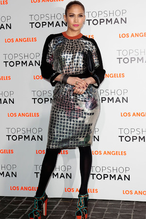 Topshop Topman LA Opening Party held at Cecconi's - Arrivals Featuring: Jennifer Lopez Where: West Hollywood, California, United States When: 13 Feb 2013 Credit: Brian To/WENN.com