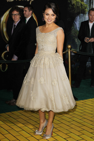 """OZ The Great And Powerful"" - Los Angeles Premiere - Arrivals Featuring: Mila Kunis Where: Hollywood, California, USA"
