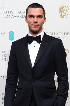 Nicholas Hoult at the 2013 EE BAFTA film awards