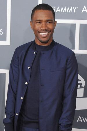 Grammy Awards 2013 red carpet: Frank Ocean