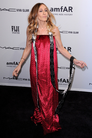 Celebrities attend the amfAR gala held at Cipriani Wall Street Featuring: Sarah Jessica Parker When: 07 Feb 2013