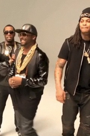 will.i.am, Diddy, Waka Flocka on 'Scream and Shout' remix video set