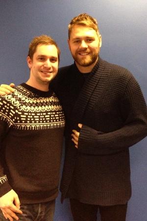 Brian McFadden and DJ Ian Brannan