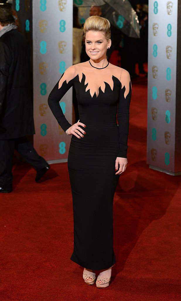 ALESSANDRA RICH, Alice Eve, BAFTAs 2013