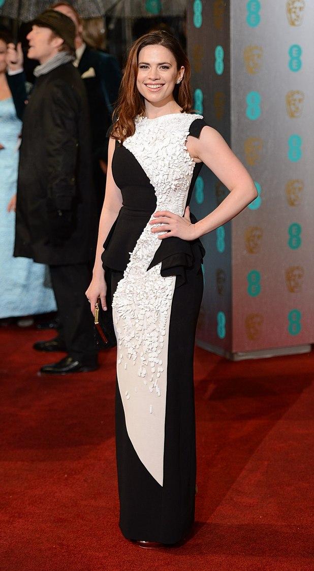 Hayley Atwell, Antonio Berardi, BAFTAs 2013
