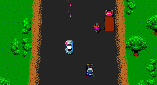 'Spy Hunter' screenshot