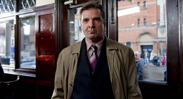 Brendan Coyle as DI Tommy Cockburn in 'Sunshine Simon', a Common Ground comedy short