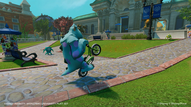Monsters University's Play Set in Disney Infinity