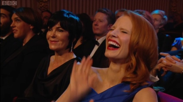 BAFTAs reaction shots