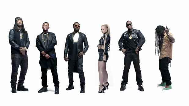 will.i.am, Britney Spears 'Scream & Shout' remix video still