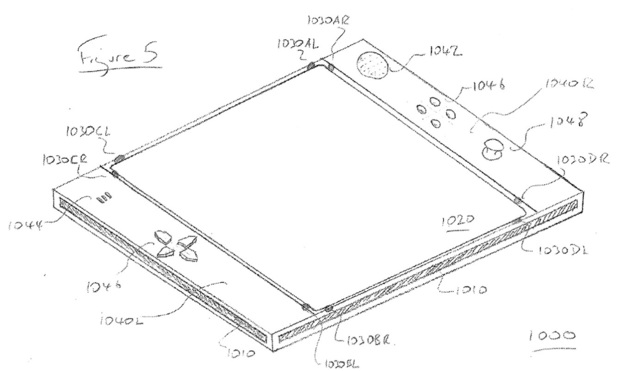 New PlayStation Eyepad controller patent diagram