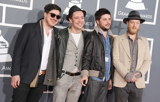 Grammy Awards 2013 red carpet: Mumford & Sons