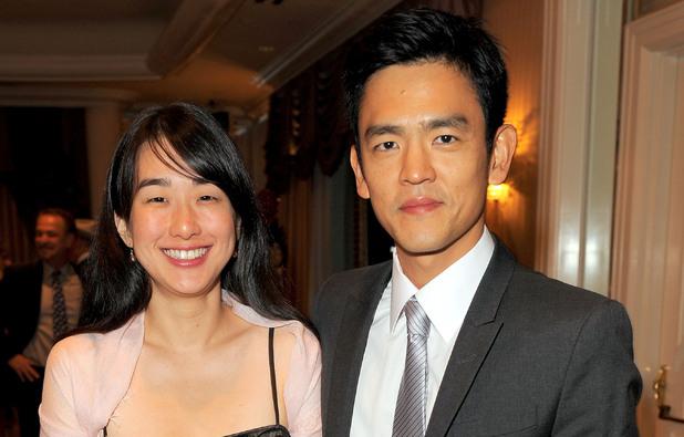 John Cho and his wife Kerri Higuchi