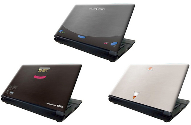 SEGA console-themed laptop range