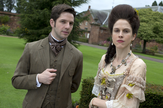 Hal (Damien Molony) and Lady Mary (Amanda Hale)
