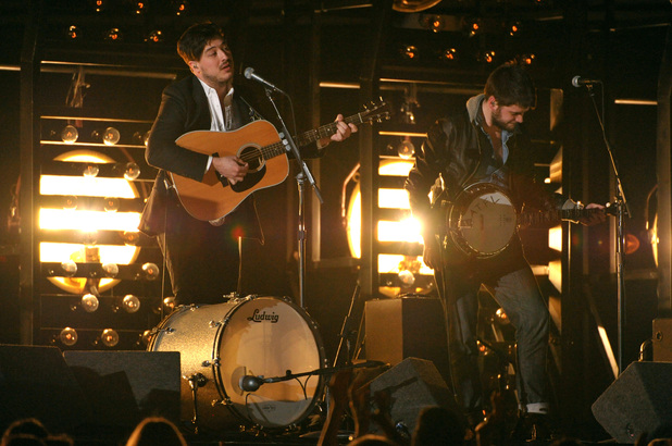 Grammy Awards 2013: Mumford & Sons perform
