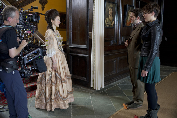 Lady Mary (Amanda Hale), Hal (Damien Molony) and Alex (Kate Bracken)