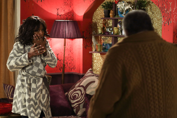 Patrick lashes out at Denise.