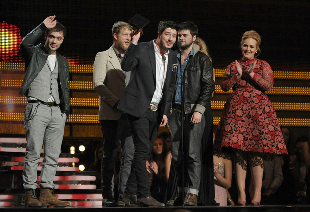 Mumford & Sons with Adele