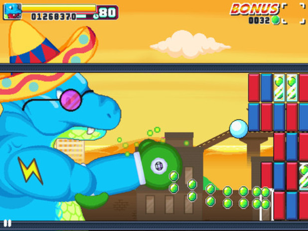 'Roar Rampage' screen