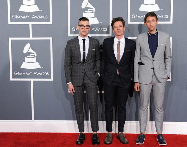 Grammy Awards 2013 red carpet: fun.