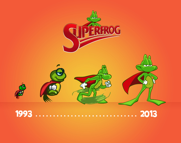 'Superfrog HD' concept art