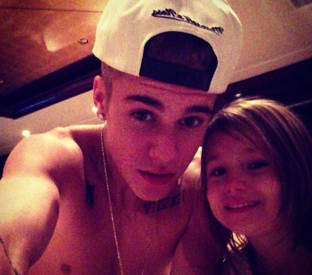 Justin Bieber posts picture on holiday with younger brother and sister, Jaxon and Jazmine