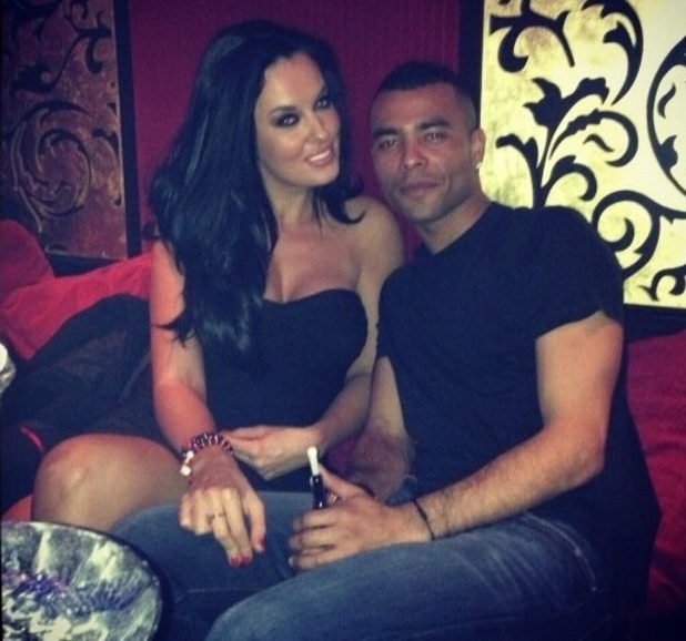 Ashley Cole and The Valleys' Anna Kelle - 11 February 2013
