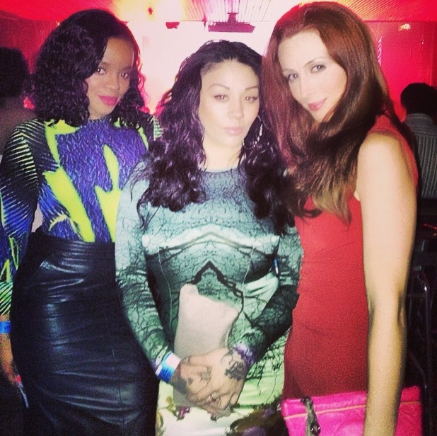 Mutya Keisha Siobhan at Roc Nation Grammys afterparty