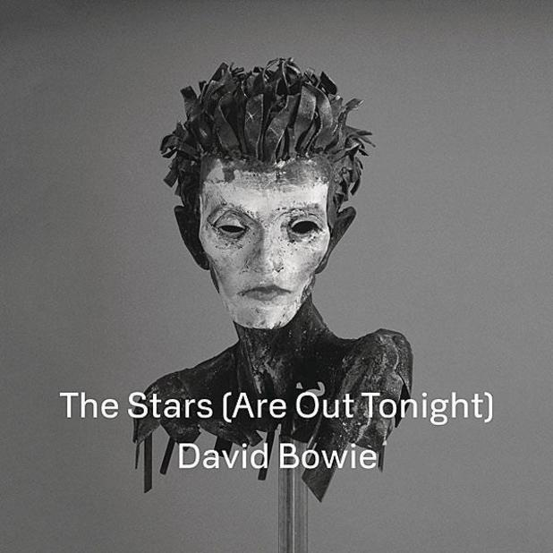David Bowie - 'The Stars (Are Out Tonight)' single artwork