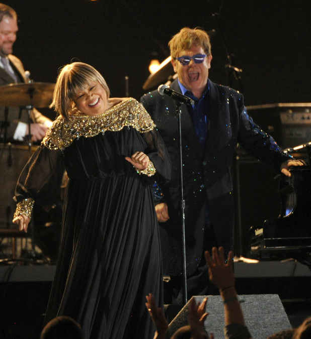 Elton John, Mavis Staples