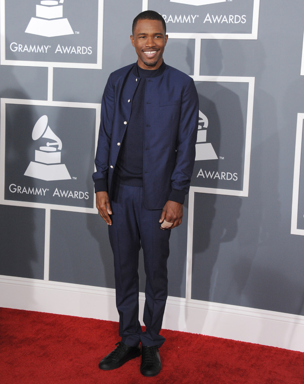 Grammy Awards 2013 red carpet: Frank Ocean