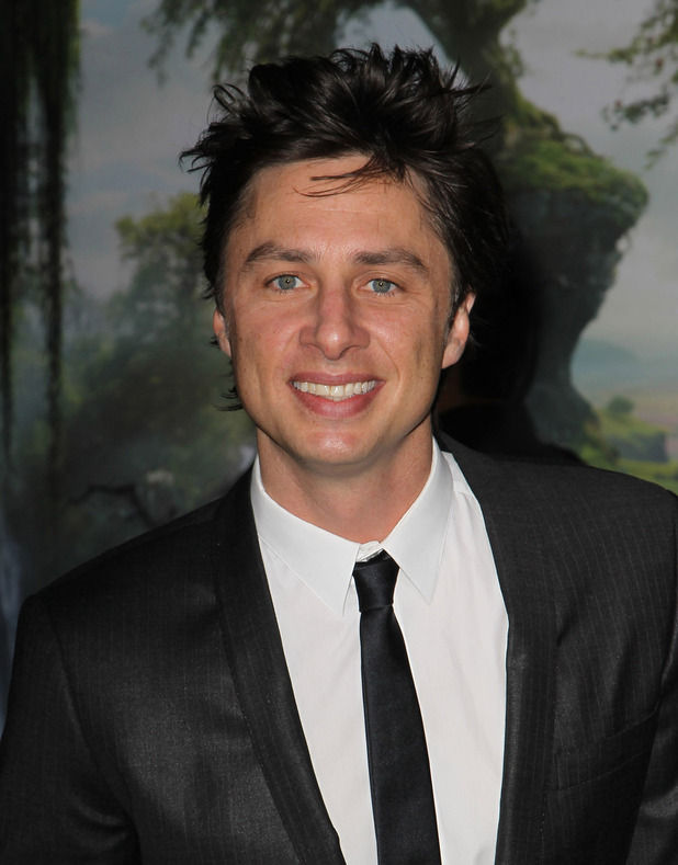 """OZ The Great And Powerful"" - Los Angeles Premiere - Arrivals Featuring: Zach Braff Where: Hollywood, California, USA"