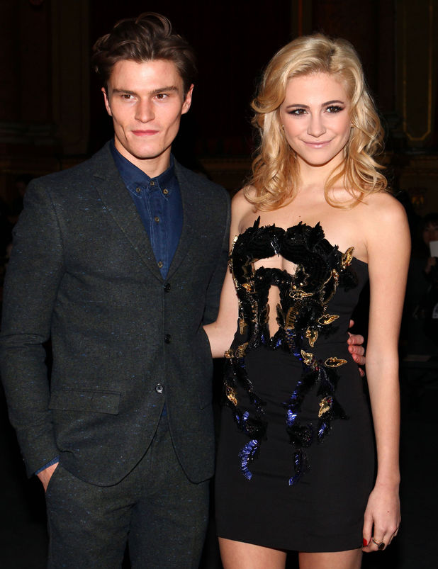 Pixie Lott and Oliver Cheshire.